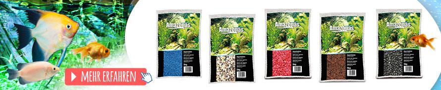 Aquarienkies Amazonas