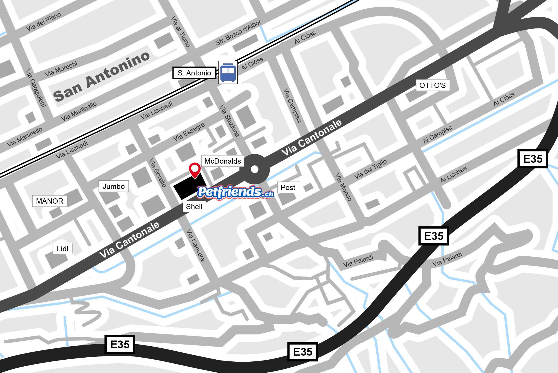 Plan San Antonino