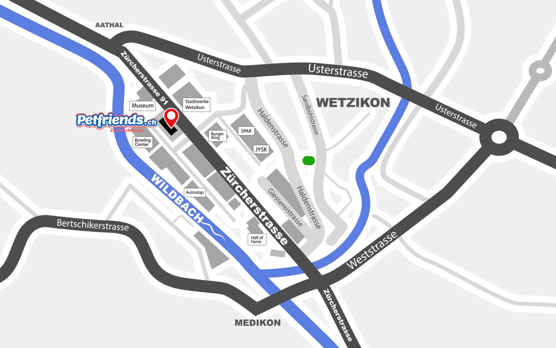 Plan Wetzikon